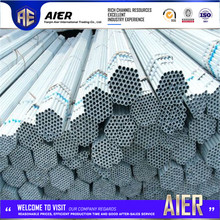 building materiales galvanized weld tube astm a500 pipe sizes