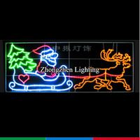 good quality illuminated Skylines street christmas decorations