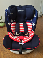 2017 baby car seat with 3 posistion seat 5 point safety belt,large seat fit for your baby from 0-36kg