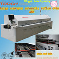 Automatic Large-size lead-free Reflow Oven with 8 zones