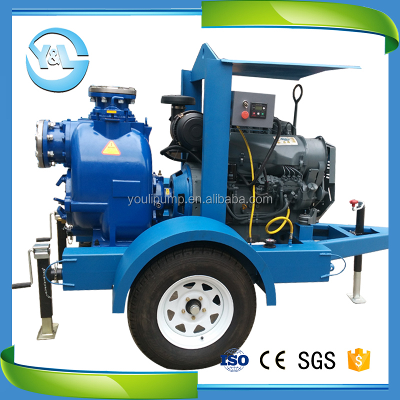diesel engine centrifugal waste oil pump equipment