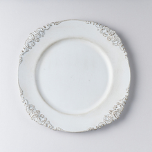 Round Plastic Dinner cake Charger <strong>Plates</strong> For Wedding Decoration