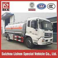 11900L 4X2 Dongfeng Diesel Engine aircraft refueling truck, mobile gas refueling truck with oil pump