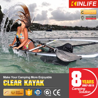 China Clear Transparent Kayak for 2 Person