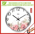 Promotional 12 Inch Metal Round Wall Clock In Wholesale