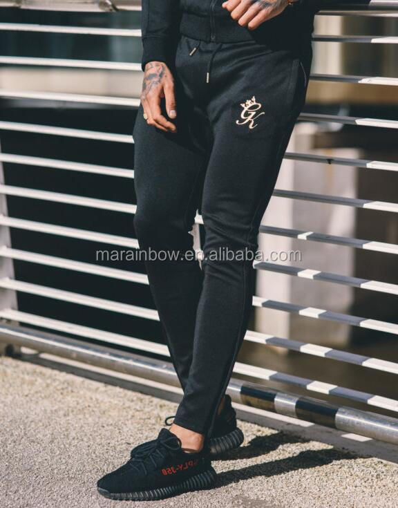 Tapered Poly Tracksuit Bottoms High Quality Mens Full Tracksuit Slim Fit Jogger Pants Hot Sale Joggers