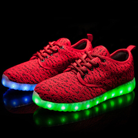 2017 New Sound Activated Led Shoes
