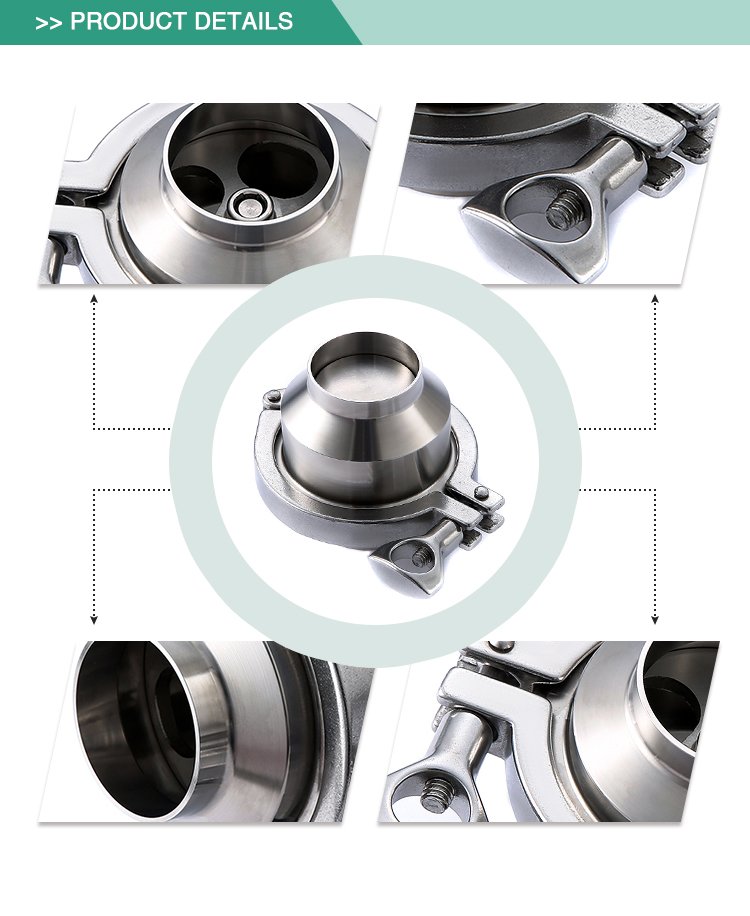 Manufactruer direct sale stainless steel food grade sanitation check valve price