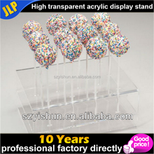 Customized acrylic cake pops display stand