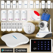 KERUI hot IP camera wifi alarm W1 smart burglar alarm system
