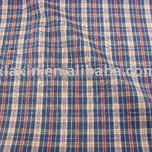 Yarn dyed shirt fabric for shirt and short trousers
