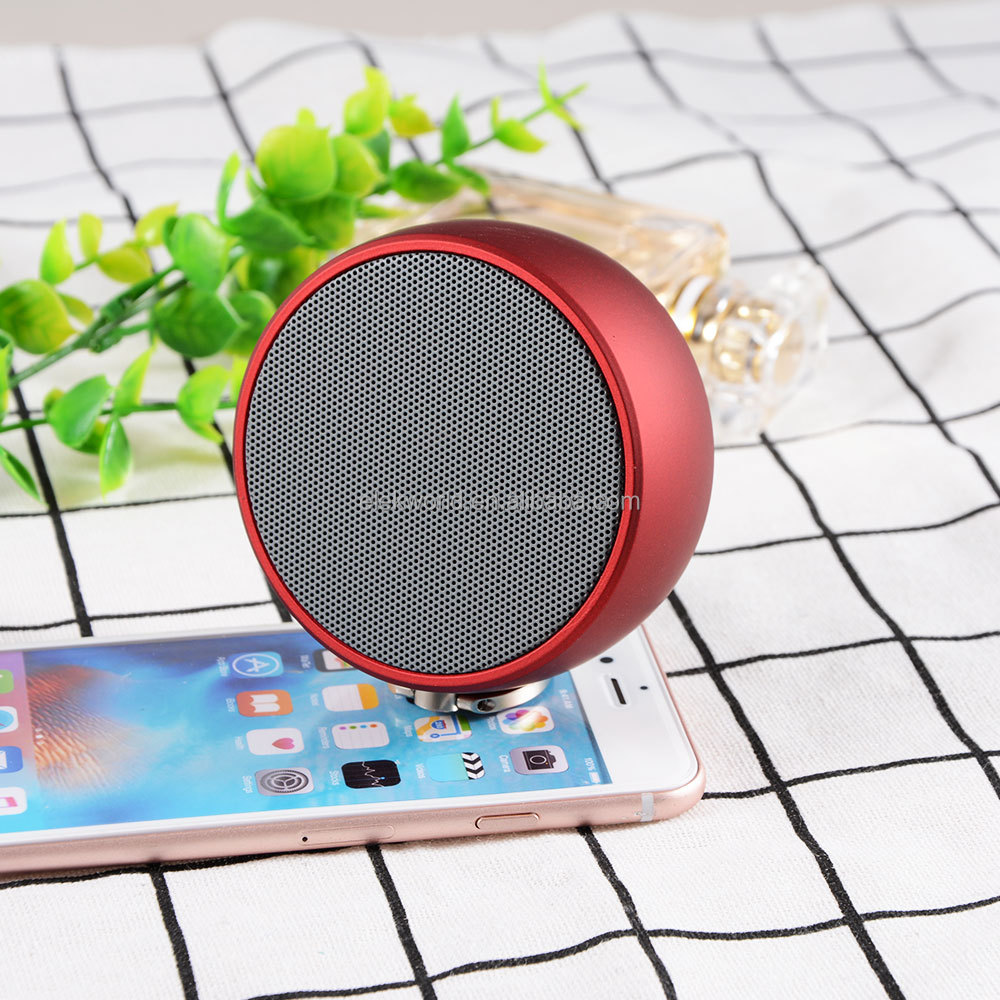 2017 Hot sale BS02 Mini Wireless BT Speaker support Calls/TF Card/Remote Shutter, w/retail package