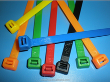 dupont nylon material self locking color cable tie