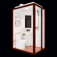 Grade one prefeb bathroom pod shower room