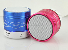 SA20 LED Colorful Lamps Wireless Bluetooth Speaker Subwoofer Portable Computer Mobile Phone Card Mini Audio Speaker