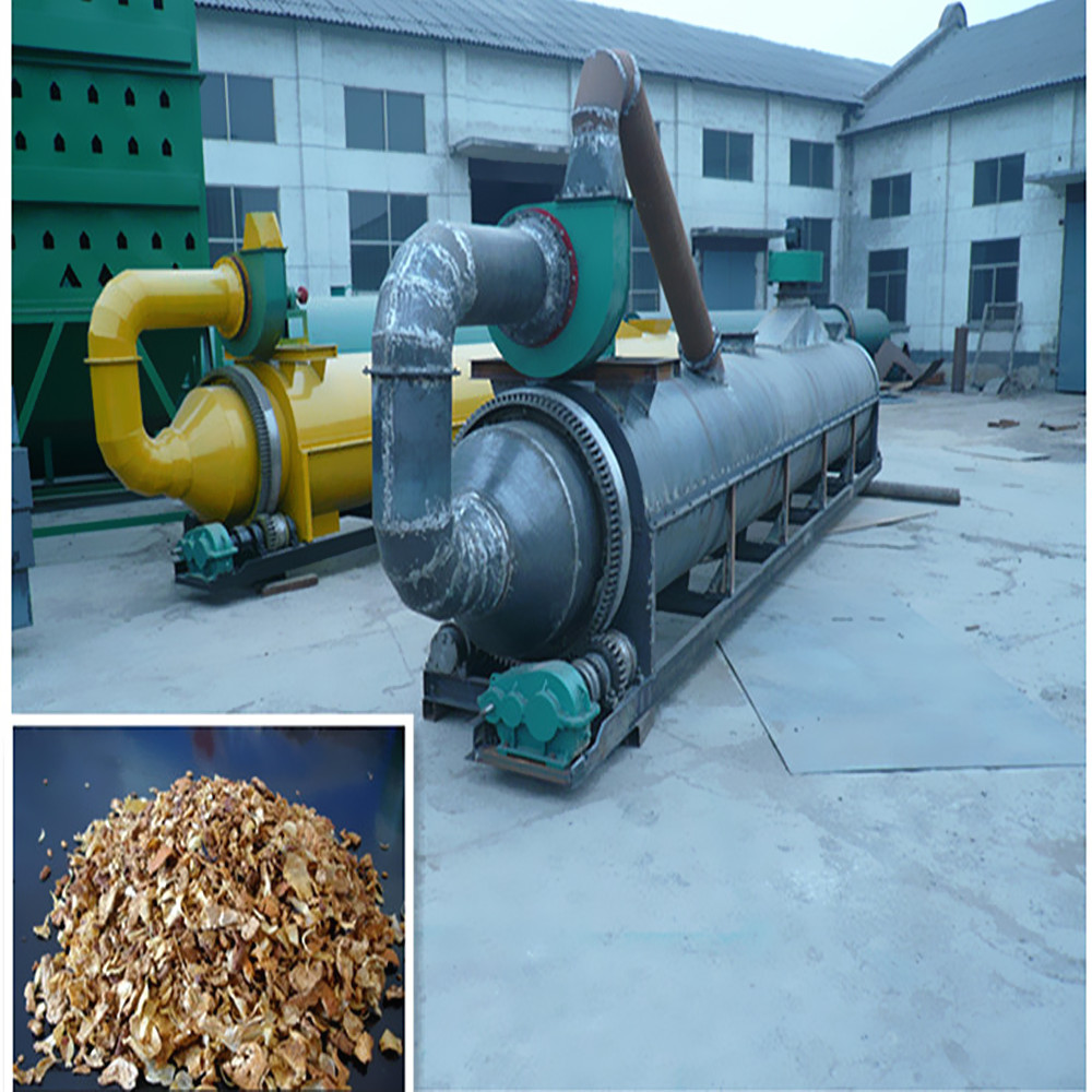 Cassava dregs drum drying machine, emery rotary tubular dryer for sale