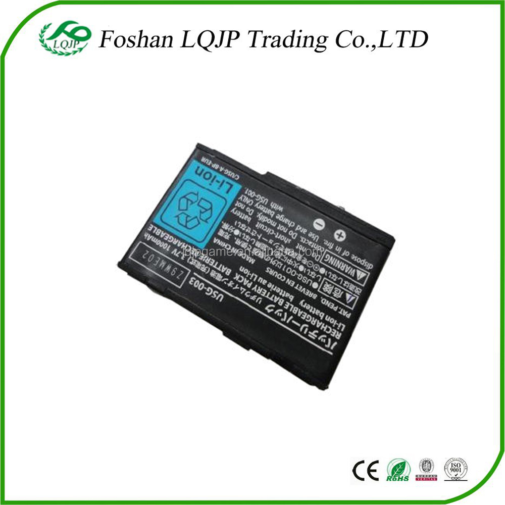 840mAh 3.7V Li-ion Rechargeable Battery Pack for Nintendo DS Lite/DS Lite/NDSL Replacement