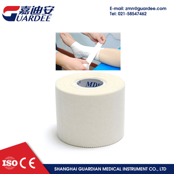 5cm*9.1m hot melt rigid sports tape for strapping athletic tape trainers tape