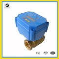 Timer Electric ball valve with auto control 1/2'' 3~6VDC for water treatment system, irrigation,