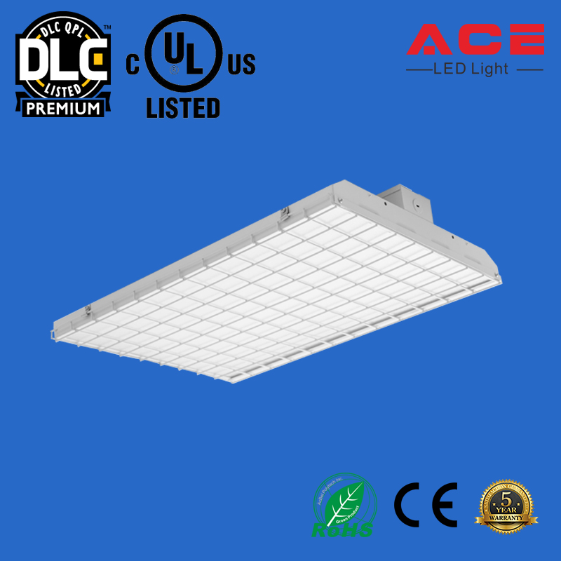 UL DLC Listed 130lm/w 320w Led Linear Lighting Fixture Linear High Bay 4ft