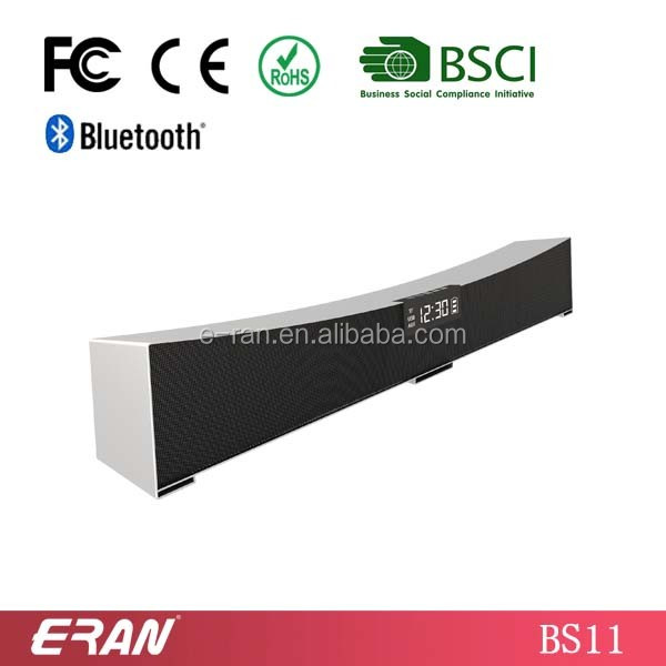ISO9001 factory direct bluetooth sound bar bluetooth speaker with FM sound bar speaker