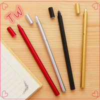 Classical and high quality stationery wholesale from china ,promotional 2016 newest best plastic glitter gel pen set