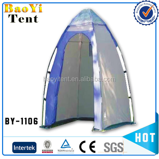 Roof top portable shower tent