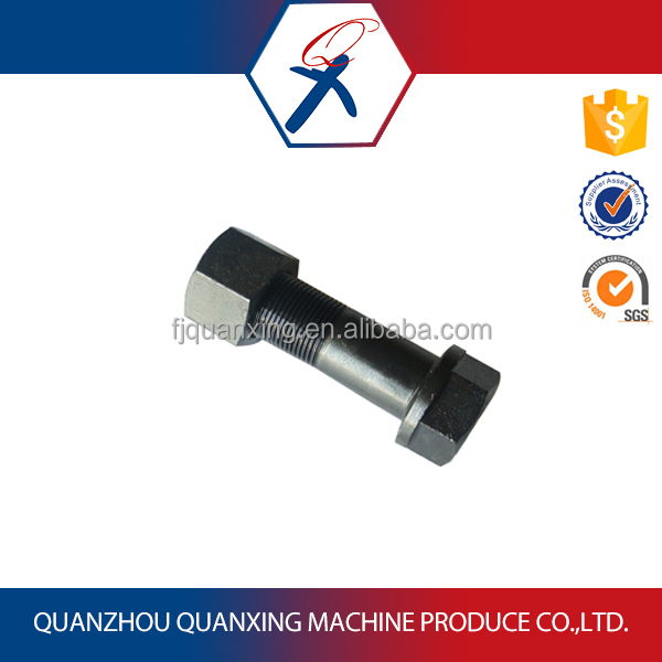 Excavator Track Bolt and Nut