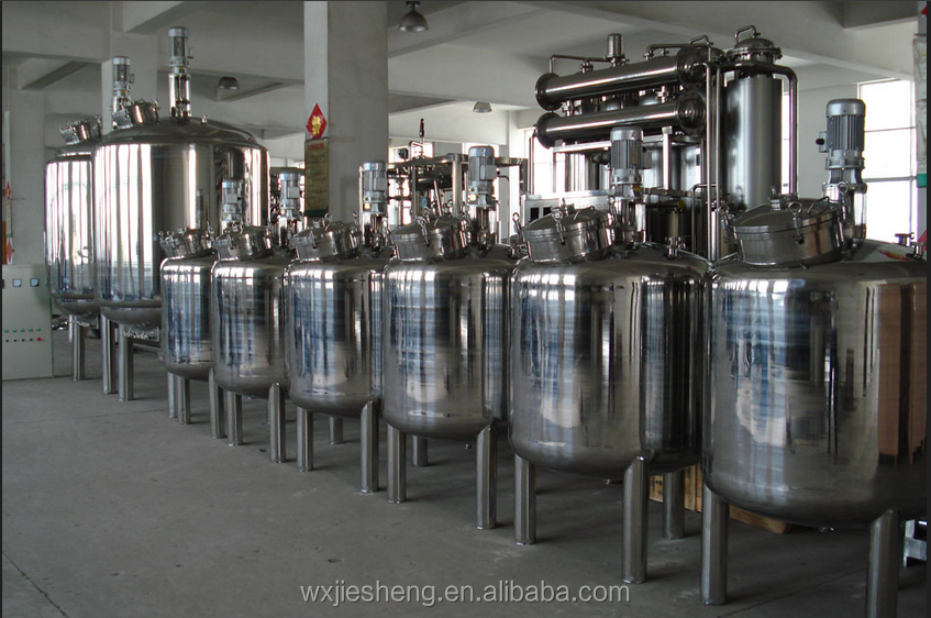 China hot sale stainless steel fermentor bioreactor