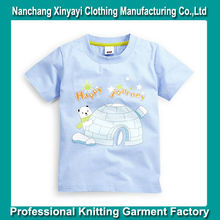 Custom Cotton T Shirt for Kids / Bulk Kids Clothes with High Quality ow/ 2014 Fashion Style Custom Printed Kids Wear