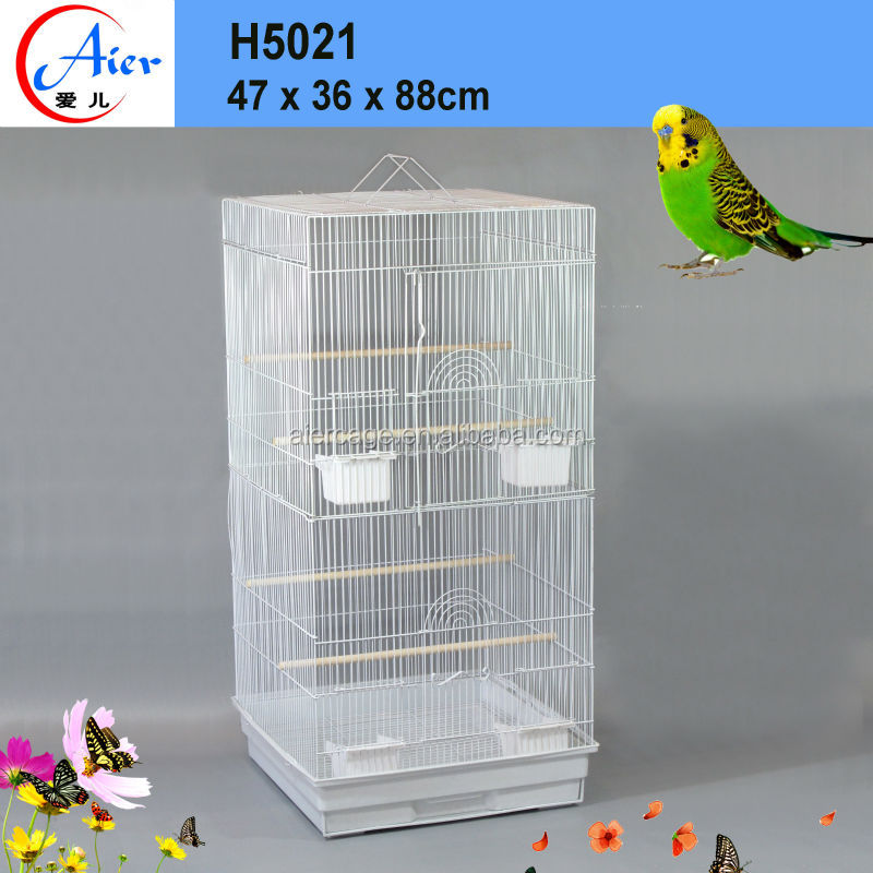 China manufacturer Outdoor hanging cage bamboo bird cages