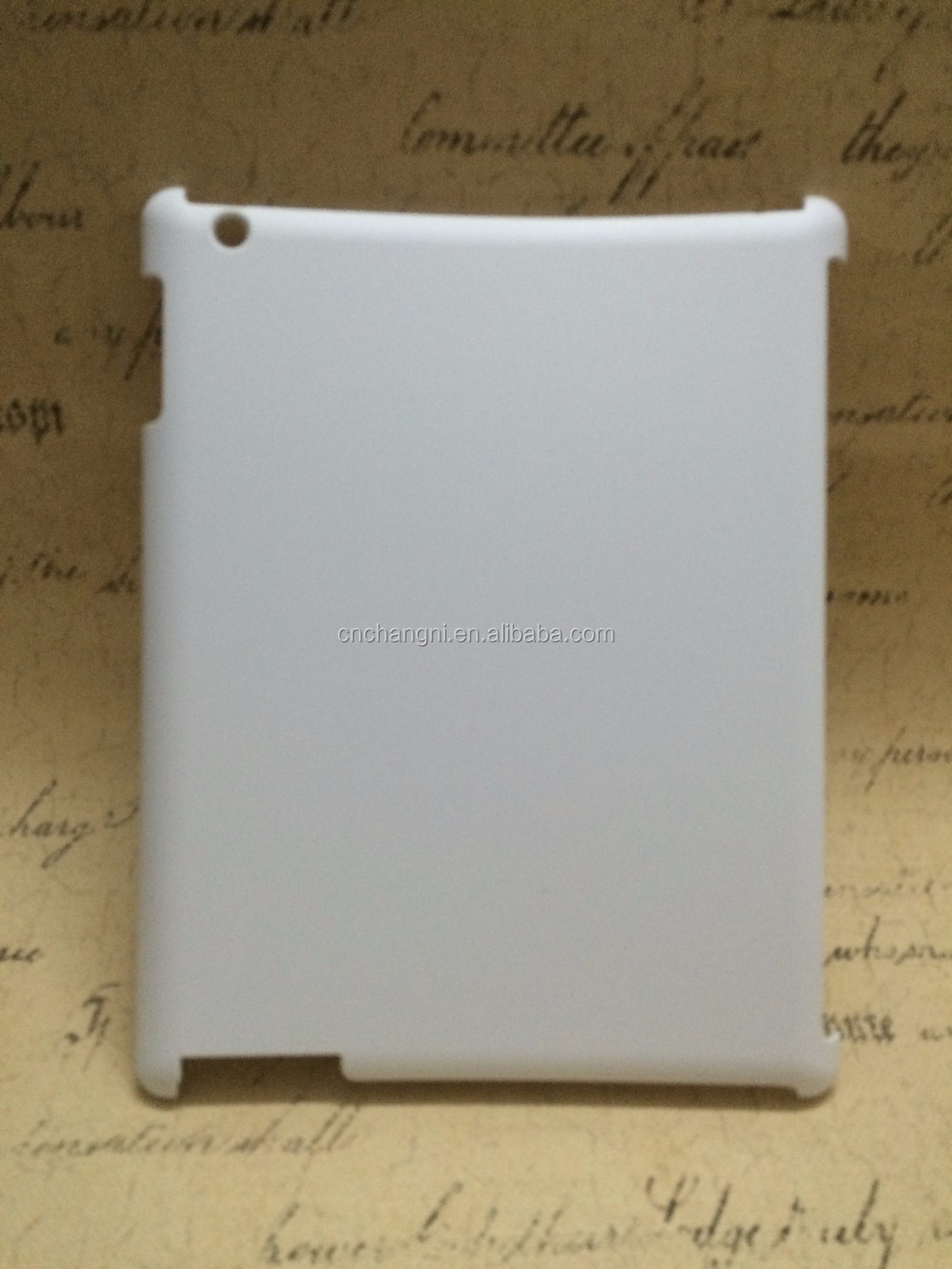 Best price sublimation cover with customer printing in factory price for Ipad2/3/4