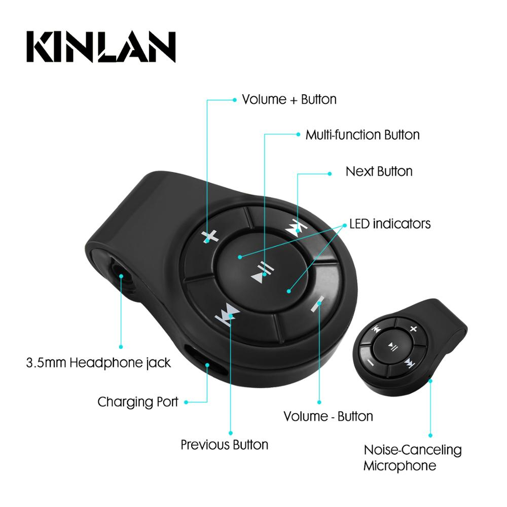 Kinlan hot selling 2017 amazon bluetooth audio receiver V4.1 wireless adapter stereo sound player