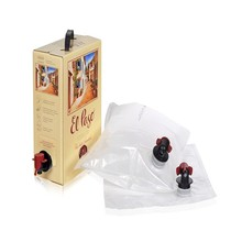 Dongguan factory custom milk aseptic bag in box