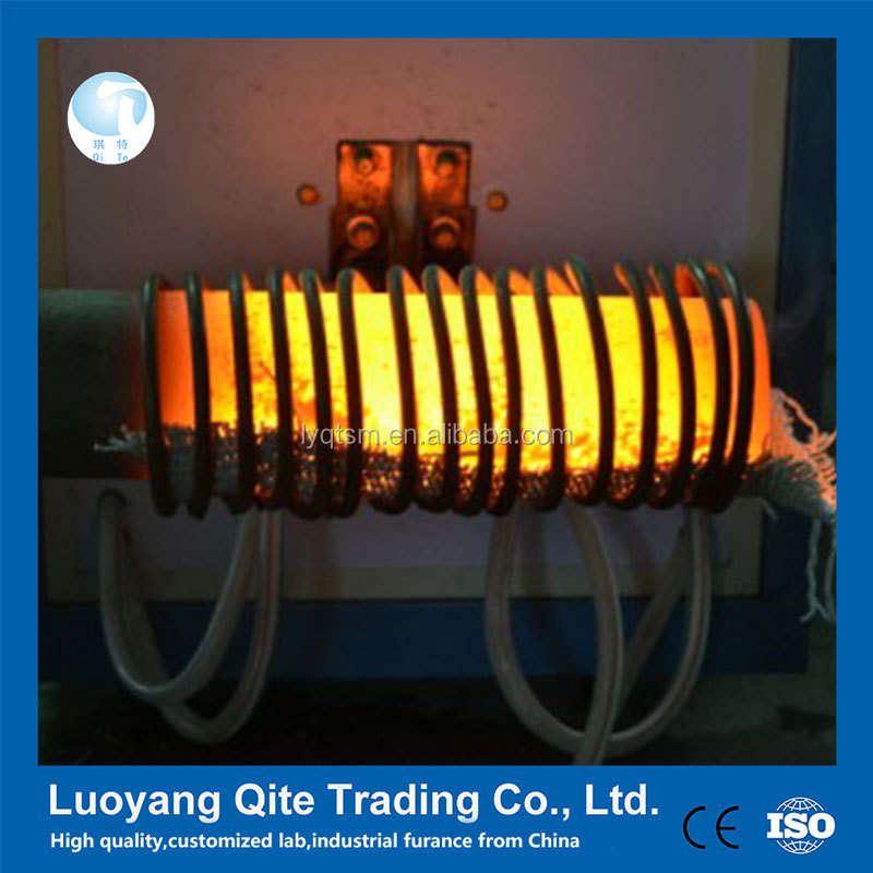 high frequency IGBT steel round bar or billet forging induction heater