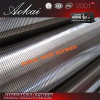 Hot sale A880 cylinder johnson screen reinforced inside screen pipe