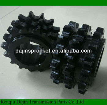 European standard Forged conveyor chain sprocket bore to size