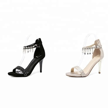 Women High Heels Rhinestone Gladiator Sandals