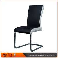 New Chrome Stand Tube Reclining Back Dining Chair