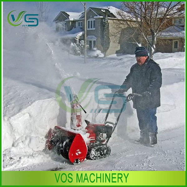 Manual operated snow remover/snow blower hot selling in many places