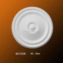 Guangdong Factory Supply Polyurethane Material Round Ceiling Medallion