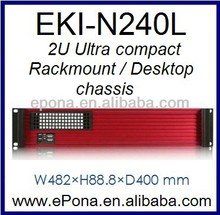 2U Rackmount Chassis,Compact Server case, industrial PC case EKI-N240L