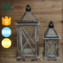 antiqued finish cheap rust candle lantern