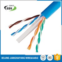 awg23 0.57mm cat 6 utp cable factory price