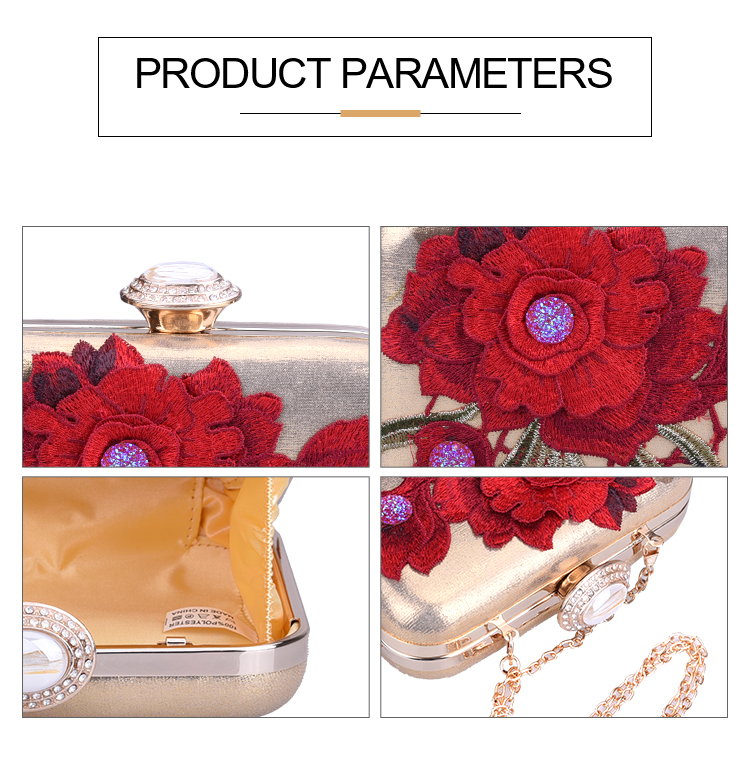Fashion banquet handbags & messenger evening clutch bags for urban ladies