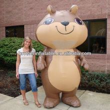 Welcome Inflatable Squirrel for Amusement Park