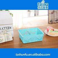 2015 plastic thermoforming display,custom food certificate plastic tubs with lid,colored storage baskets
