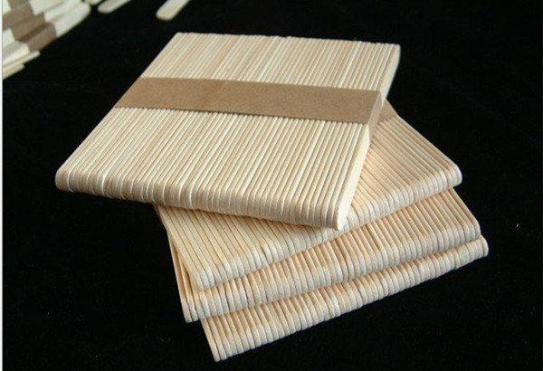 China Wholesale Disposable Birch Ice Cream Wooden Stick For Food