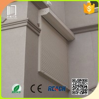 push up window roller shutter window