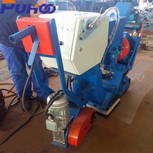 550mm China makes environmental protection steel structures surface dustless vehicle shot blasting machine